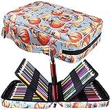 Peut Contenir 220 Trousses de Crayons de Couleur Jakago Grande Capacité Sac de Rangement étanche pour Crayons Aquarelle, Marqueurs et Stylos à Gel