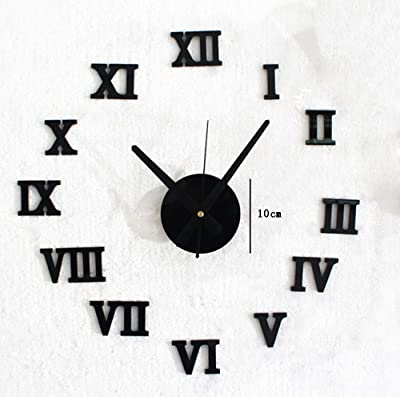 TIANTA- DIY- European Style Acrylic Creative Wall Clock, Fashion Household Decoration Restaurant Bar