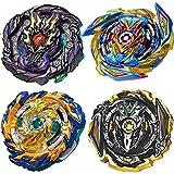 BEUTEESER Burst Gyros Battling Top Battle Burst High Performance Set, Gaming Top Spinning Toy, 4 Pieces Pack