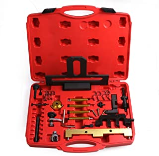 LSAILON Automotive Tools Kit Engines Camshaft Locking Timing Tools Kit Replacement for BMW N42 N46 N46T B18 B20