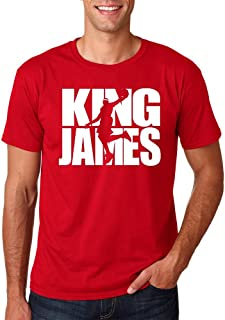 Loo Show Mens King James - Lebron Cleveland Fan Wear T-Shirt Tee