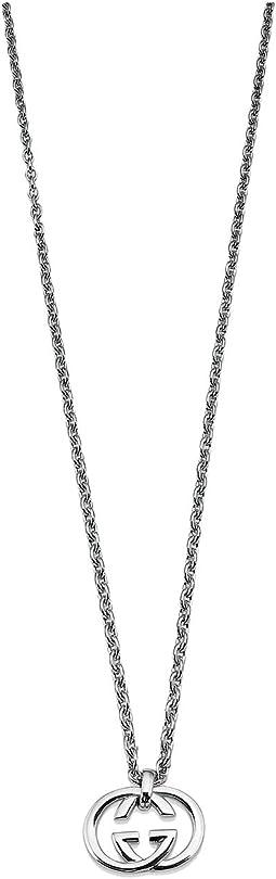 Gucci - 50cm Silver Britt Necklace