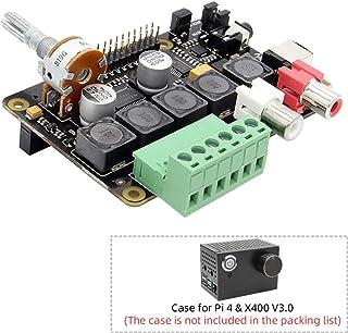 Raspberry Pi 4B/3B+/3B Full-HD DAC I2S Class-D TI PCM5122 Amplifier, X400 V3.0 Audio Expansion Board Sound Card | Music Player for Raspberry Pi 4 Model B/Raspberry Pi 3 Model B+ / 3 Model A+