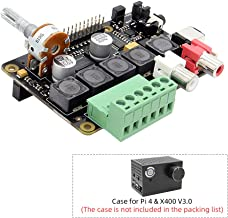 Raspberry Pi 4B/3B+/3B Full-HD DAC I2S Class-D TI PCM5122 Amplifier, X400 V3.0 Audio Expansion Board Sound Card | Music Player for Raspberry Pi 4 Model B/Raspberry Pi 3 Model B+ / 3 Model A+