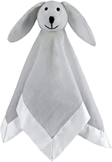 aden + anais Musy Mate Lovey Soft Blanket Muslin, Solid Microchip