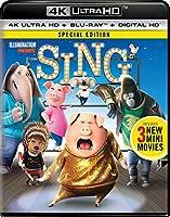 Sing (4K Ultra HD + Blu-ray + Digital HD)
