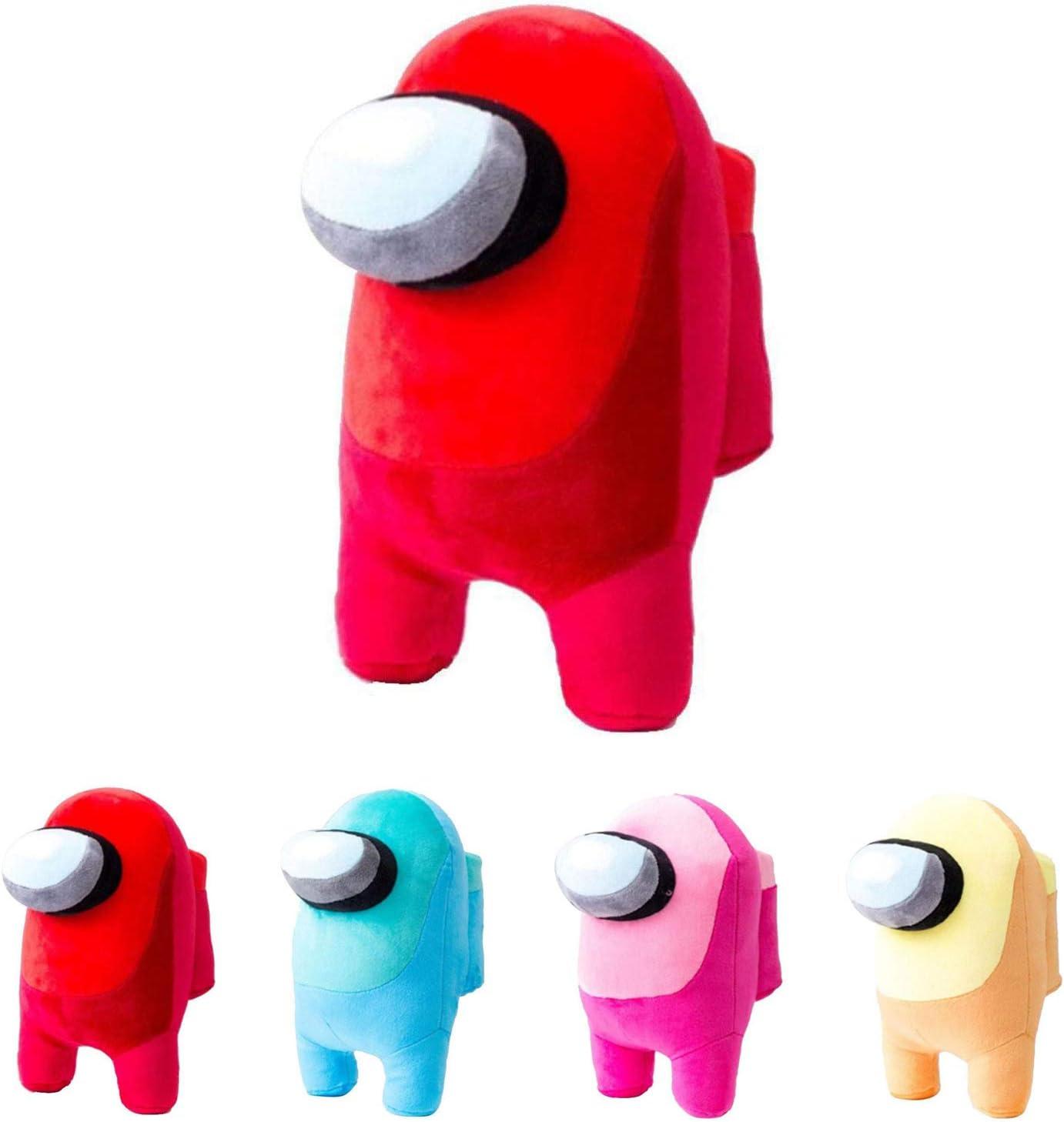 KKP Among Us Peluche Sweat LImposteur Entre nous Rouge Coussin d/écoratif 20 cm
