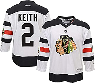 duncan keith jersey white
