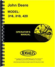 Best john deere 420 parts manual Reviews