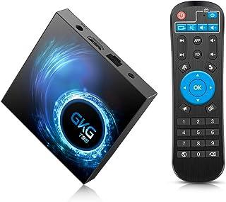 comprar comparacion GKG Android TV Box 10.0, GKG T95 TV Box 4GB RAM 32GB ROM Allwinner H616 Quad-core 64-bit Soporte 6K 3D WiFi 2.4GHz Android...