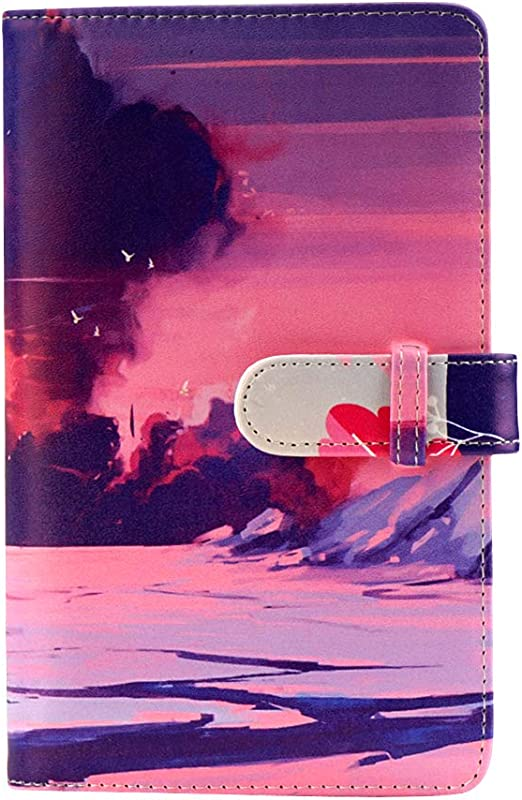 Anter 108 Taschen Mini Fotoalbum Kompatibel Mit Kamera