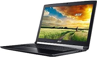 Acer Aspire 7 A717-72G-700J Laptop - Intel Core i7-8750H, 17.3-Inch, 256GB SSD, 16GB, 6GB VGA-GeForce GTX1060, Eng-KB, Windows 10, Black