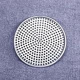 LNIMIKIY Piastra per teglia per Pizza Foro Forato Tondo Stampo in Alluminio Utensili da Cucina Vassoio Antiaderente Cottura Accessori per teglie Anche Riscaldamento(9)