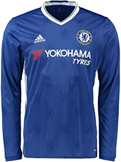 adidas Men's Chelsea 16/17 Long Sleeve Home Chelsea Blue/White Jersey