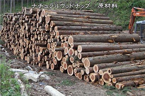 ナチュラルウッドチップ(杉・さわら混合)天然木100%50L入り×2袋セット