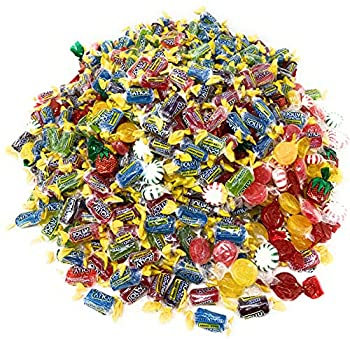 American Favorite Hard Candy Assorted Bulk Party Mix Jolly Ranchers And Old Fashioned Candies Individually Wrapped 12 Flavor Assortment Variety Pack 11Lbs 810+pcs  176 Oz