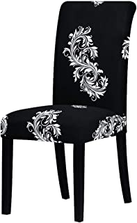 yuexianghui Printing Zebra Stretch Chair Cover Big Elastic Seat Chair Covers Painting Slipcovers Restaurant Banquet Hotel Home Decoration,125870,CH,Universal Size