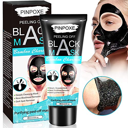 Bambú Máscara Negra, Peel off Mascarilla, Black Mask, Mascarillas exfoliantes...