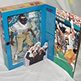 GI Joe Year 1998 Classic Collection Series 12 Inch Tall Action Figure - Navy Football Linebacker with Helmet, Jersey, Padded Pants, Cleats, T-Shirt, Sholder Pads, Socks, Towel and Football (Africian American Version)