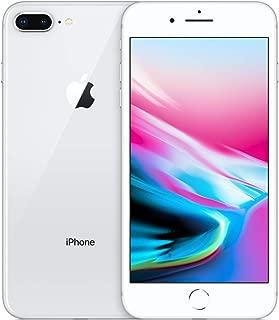 Apple iPhone 8 Plus 64GB Unlocked GSM Phone - Silver (Renewed)