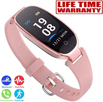 NEWBEING Fitness Watches for Women, Fitness Tracker, Waterproof Smart Watch for Android Phones and iPhone, Health Monitoring Watches, Activity Tracker, Pedometer for Walking, Heart Rate Monitor Kids.