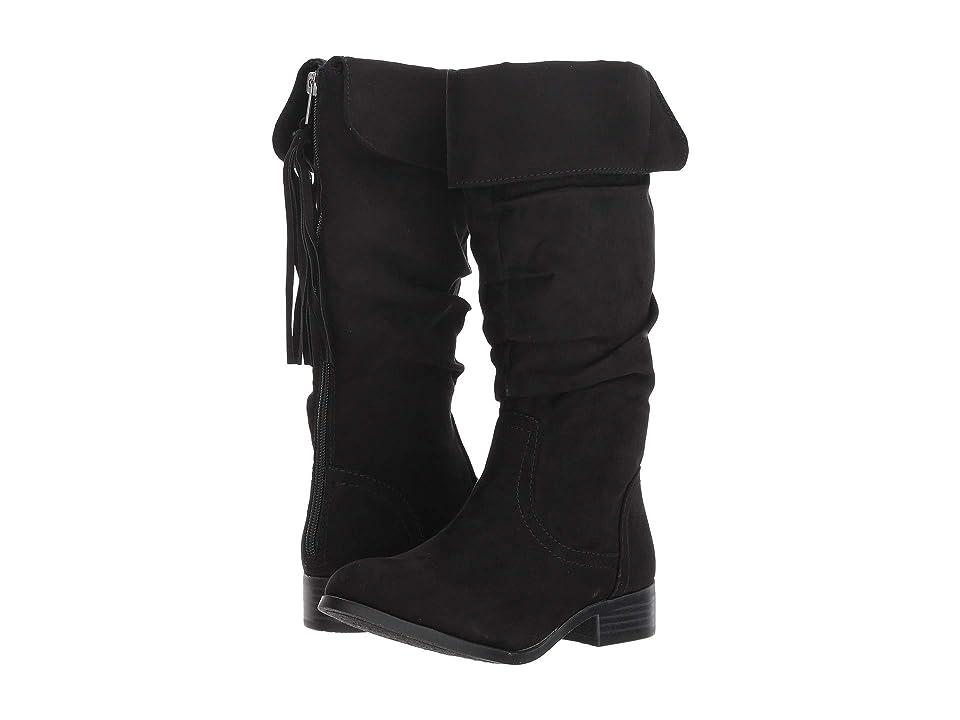 Steve Madden Kids Jperri (Little Kid/Big Kid) (Black) Girls Shoes