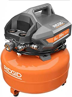 Ridgid ZROF60150HA 6 Gal. Portable Electric Pancake Compressor (Renewed)