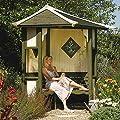 Timber Haven Corner Arbour OGD042