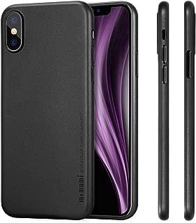 memumi Funda para iPhone X, Ultra Slim Anti-Rasguño y Resistente Huellas Dactilares Totalmente Protectora Caso de Plástico Duro Cover Case Compatible con iPhone X [Slim Series]