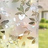 LMKJ Pellicola Decorativa per vetri Colorati in Cristallo Pellicola autoadesiva Isolante per vetri Pellicola per vetri Decorativa per la casa A56 60x200cm