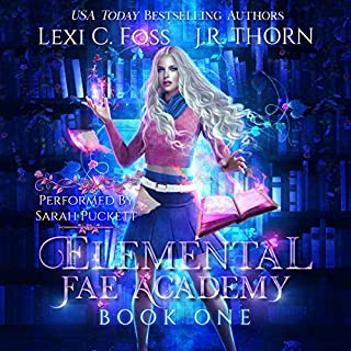Elemental Fae Academy: Book One cover art