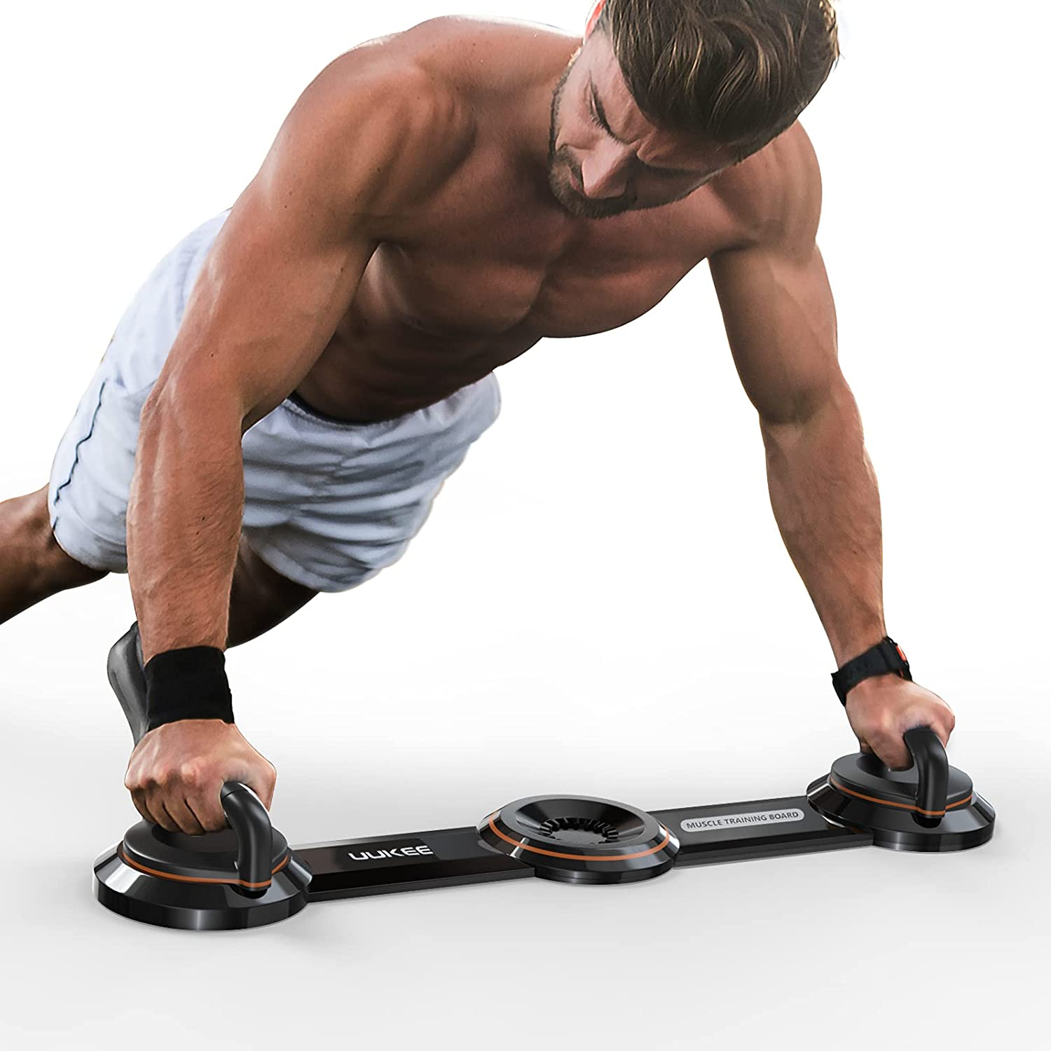UUKEE Push Up Bar Upgraded 1 Strength Board Max 88% OFF for All items in the store Training