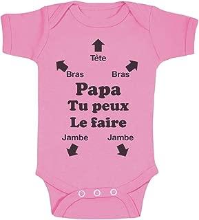 Jacky Baby-Body Babybody marraine ou parrain-sous-vêtements combinaison
