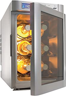 Dometic MF-6W Silver 6-Bottle Wine Cooler