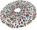 Egero - Juego de pegatinas 3D de la Patrulla Canina (20 láminas) 300 pegatinas reutilizables para niños para manualidades y álbumes de recortes.