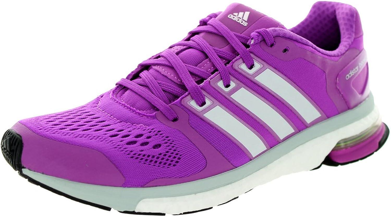 Adidas Women's Adistar Boost W Purple Grey Running shoes 9 Women US