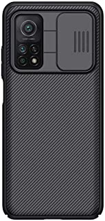 Nillkin Case Compatible with Xiaomi Mi 10T 5G Cover, Hard CamShield with Camera Slide, Drop Protection Cover [Built-in Len...