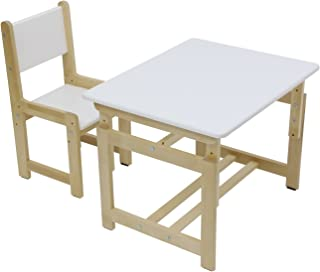 Children s Table and Chair Set  Polini Kids Eco 400 Wood Model  3051