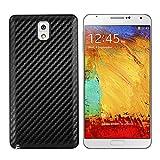 kwmobile Coque Carbon pour Batterie Aspect Carbone pour Samsung Galaxy Note 3 en Noir - Assortie au...