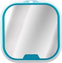 """Five Star Locker Accessories, Locker Mirror and Locker Light, 4-1/2"""" x 4-1/2"""", Teal (73595)"""