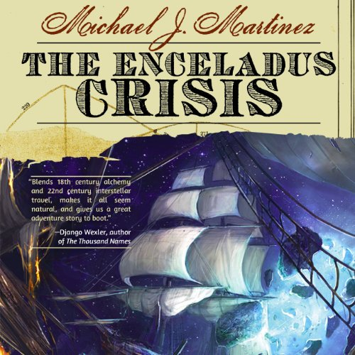 The Enceladus Crisis audiobook cover art