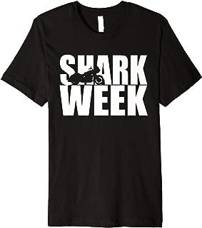 Shark Motorcycle Fun Roadie Biker Bagger Premium T-Shirt