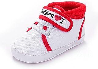 Calzado Auxma Infantil del bebé del niño de la Muchacha del Muchacho Sole Suave Zapatilla de Deporte para niños pequeños