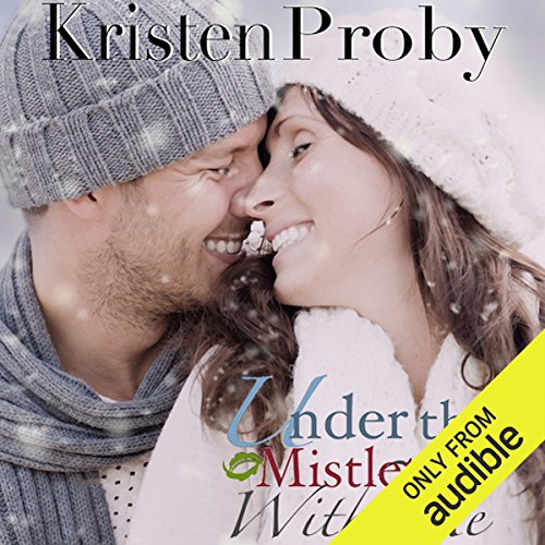 Under the Mistletoe with Me audiobook cover art