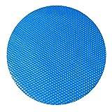 WFIT Piscina Cubierta del Protector del Polvo, La Burbuja De Protección UV Piscina Cubierta, Manta Oval Rectángulo Solar De La Piscina Cubierta Azul PE