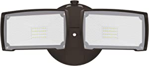 LEPOWER 3000LM LED Flood Light Outdoor, Switch Controlled LED Security Light, 28W Exterior Lights with 2 Adjustable Heads, 5500K, IP65 Waterproof for Garage, Yard, Patio