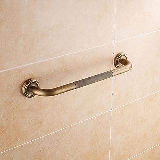 Mr. Cinsen 仿古铜浴室毛布杆浴缸防滑扶滑手厚壁挂浴室老人儿童安全扶手手、52厘米储物架
