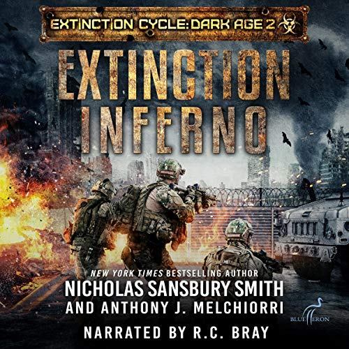 Extinction Inferno audiobook cover art