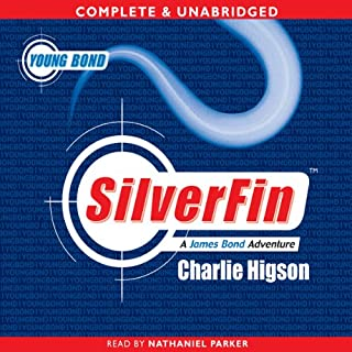 Young Bond: Silverfin                   By:                                                                                                                                 Charlie Higson                               Narrated by:                                                                                                                                 Nathaniel Parker                      Length: 8 hrs and 28 mins     204 ratings     Overall 4.6