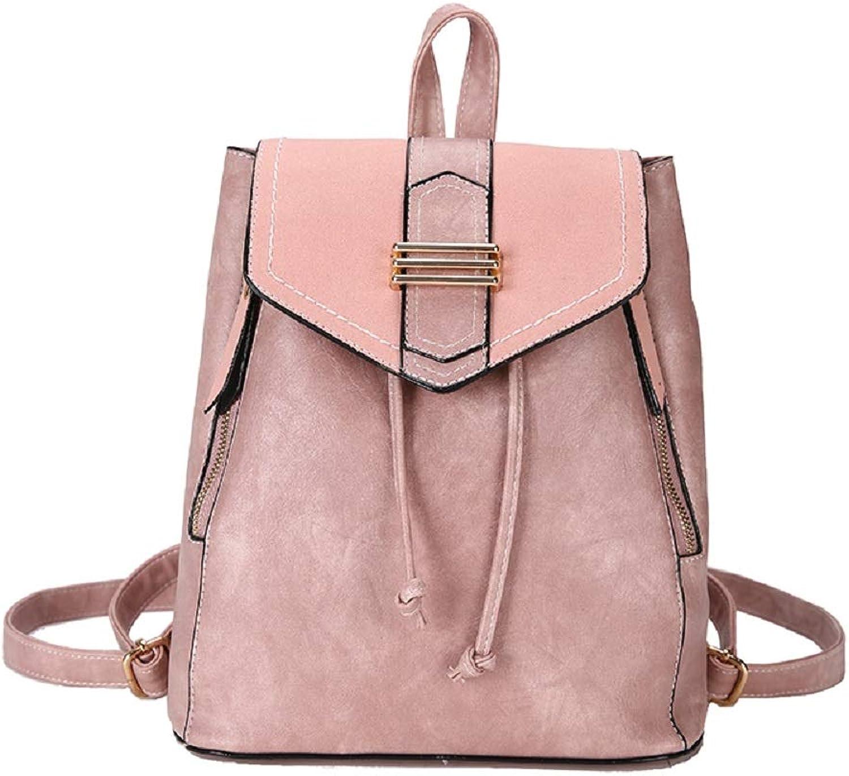 Zhrui Damen Compact Compact Compact Modische Rucksack Elegante Casual Daypack (Farbe   Rosa) B07GQQQGR5 | Verwendet in der Haltbarkeit  836f94